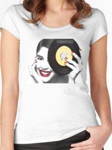 DellaGunnz Women's Fitted Scoop T-Shirt