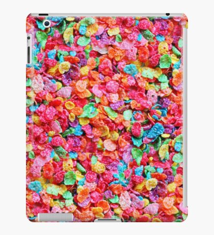 Colorful Cereal iPad Case/Skin