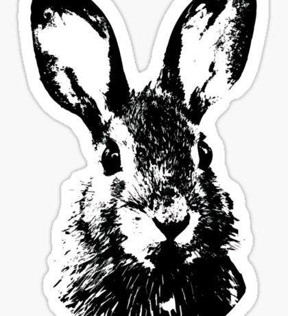 Rabbit Portrait Sticker