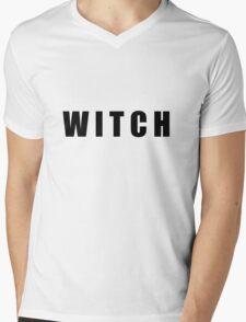 Witch Mens V-Neck T-Shirt