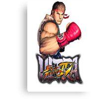 ultra street fighter ryu Canvas Print