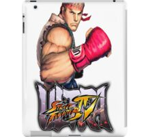 ultra street fighter ryu iPad Case/Skin