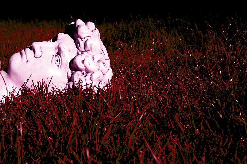 Head Spill Red by Godfrey Blackwood
