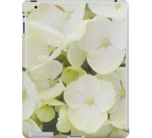 White Hydrangea iPad Case/Skin