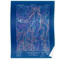 Maine USGS Historical Map Bath 807362 1920 62500 Inversion Poster