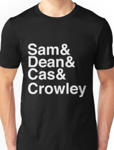 Supernatural Names Unisex T-Shirt