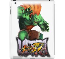 ultra street fighter blanka iPad Case/Skin