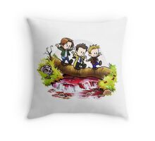 Team Free Will Goes Exploring Throw Pillow