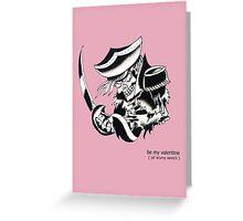 """Scurvy Wench"" Valentine Greeting Card"