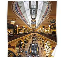 Inside the QVB Poster