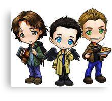 Team Free Will - Chibi Style Canvas Print