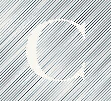 Striped C by DLUTEDDESIGN