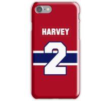 Doug Harvey #2 - red jersey iPhone Case/Skin