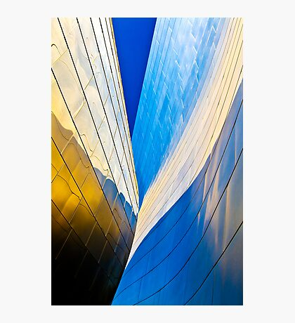 Contours of the Concert Hall Photographic Print