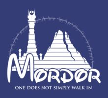 Disney Mordor by Lightkeeper
