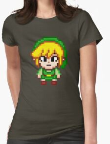 Toon Link - Smash Bros Mini Pixel Womens Fitted T-Shirt