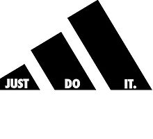 Adidas just do it by Zach Muldoon