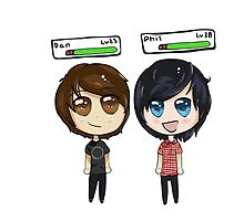 Dan and Phil by AbbieBosworth