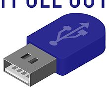 I Pull Out USB Geek by mralan