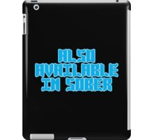 Also available in sober Funny Geek Nerd iPad Case/Skin