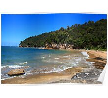 Flint & Steel Beach, Ku-ring-gai Chase National Park Poster