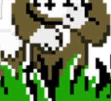 Moon Duck Hunt Sticker