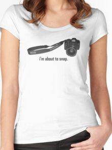 cedric. Women's Fitted Scoop T-Shirt