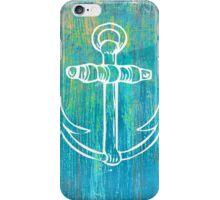 Rustic Anchor  iPhone Case/Skin