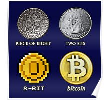 Pieces of 8-BITcoin Poster