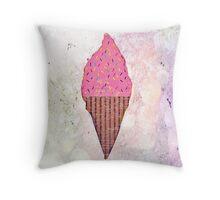Pink Yummies Throw Pillow