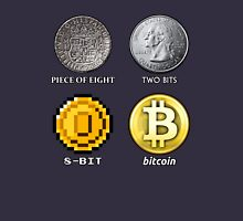 Pieces of 8-BITcoin Unisex T-Shirt
