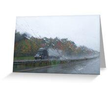Weather Advisory Greeting Card