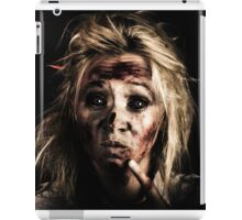 Evil Dead Female Zombie With Monster Headache iPad Case/Skin