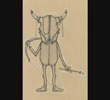 Bull Skull Guy Spirit Animal Unisex T-Shirt
