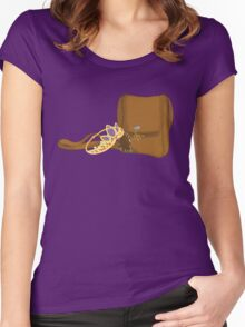 Satchel and Crown Women's Fitted Scoop T-Shirt