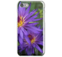 Tropical water lily. iPhone Case/Skin