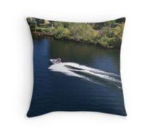 Water Skier..... Throw Pillow