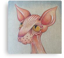 Right Side Up Sphynx Canvas Print
