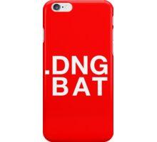 .DNG BAT iPhone Case/Skin
