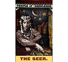 The Seer: from the Tarot of the Zirkus Mägi Photographic Print