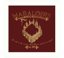 marauders shirt Art Print