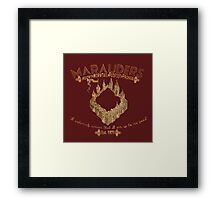 marauders shirt Framed Print