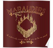 marauders shirt Poster