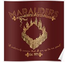 marauders shirt Poster