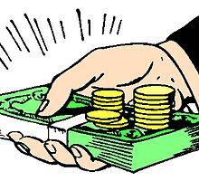 Holding Money by kwg2200