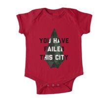 you have failed this city - Arrow One Piece - Short Sleeve