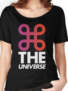 Command The Universe (Black) Women's Relaxed Fit T-Shirt