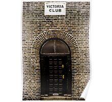 Victoria Club Poster