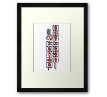 TF Ghostbusters (Ready 2 Believe) Wht Ver.3 Framed Print