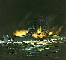 USS Houston by Kate Eller